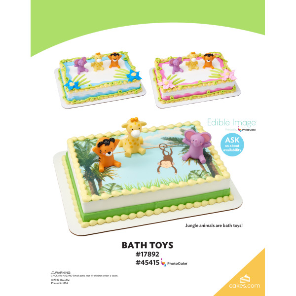 Bath Toys DecoSet® The Magic of Cakes® Page