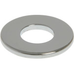 Chrome Metric Flat Washers