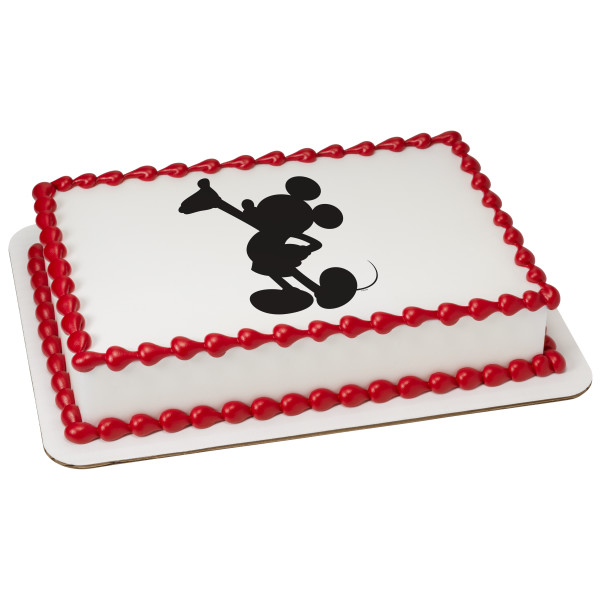 Mickey Mouse & Friends Mickey Silhouette PhotoCake® Edible Image®