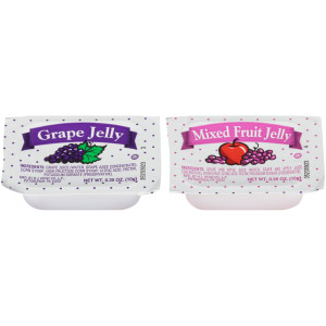 PPI Assortment 10 Jelly & Jam, 10 gr. Cups (Pack of 200) image