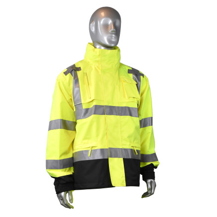 Radians RW32 Heavy Duty Rip Stop Waterproof Rainwear