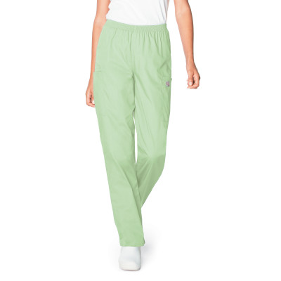 Landau Scrub Zone 3 Pocket Scrub Pants for Women: Classic Relaxed Fit, Durable, Elastic Waist, Straight Leg 83221-Landau