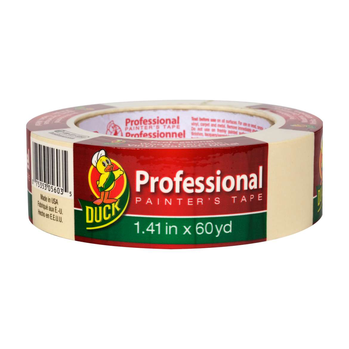 Duck® Brand Professional Painter's Tape - Beige, 1.41 in. x 60 yd. Image