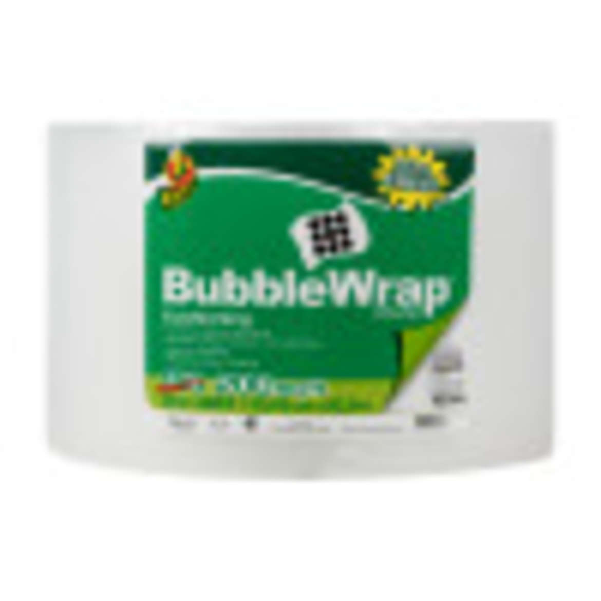 Duck® Brand Original Bubble Wrap® Cushioning - Clear, 12 in. x 200 ft. Image