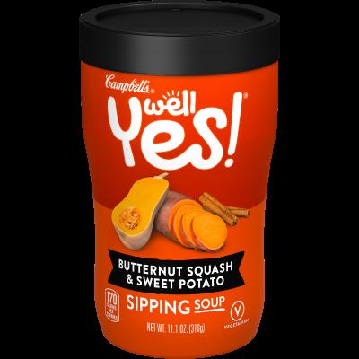 Butternut Squash & Sweet Potato Sipping Soup