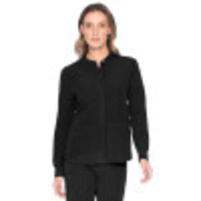 Urbane ICON Scrub Jacket for Women: 2-Pocket, Contemporary Slim Fit, Premium Luxe Soft, Super Stretch, Zipper Front Warm-Up Medical Scrubs 9736-Urbane