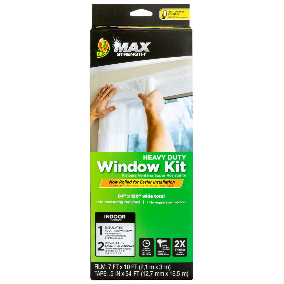 Duck Max Strength® Rolled Window Kit Image