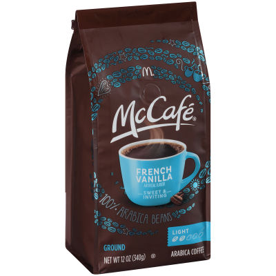 McCafe French Vanilla Ground Coffee, 12 oz Bag