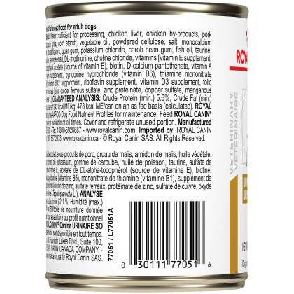 Royal Canin Veterinary Diet Canine Urinary SO Canned Dog Food