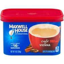 Maxwell House International Vienna Cafe-Style Beverage Mix 9 oz Canister