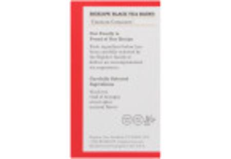 Ingredient panel of Constant Comment Tea 40 tea bags per box