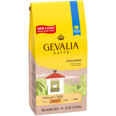 Gevalia Colombia Ground Coffee, 12 oz Bag
