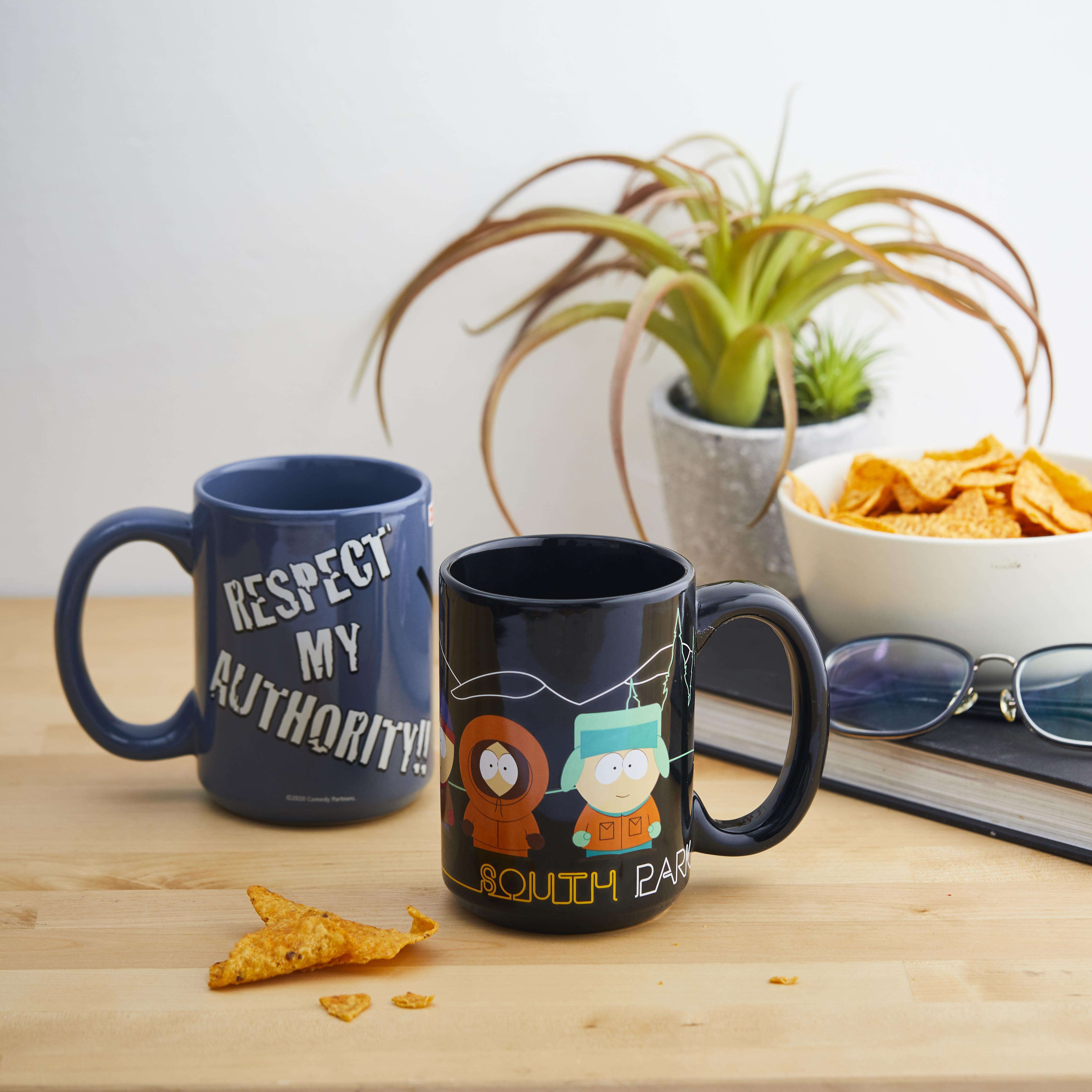 South Park 15 ounce Coffee Mug, Cartman, Kenny & Kyle slideshow image 6