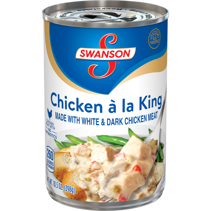 Chicken á la King Made with White Meat Chicken