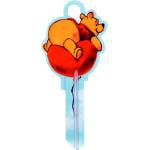 Disney Shaped Winnie the Pooh Key Blank