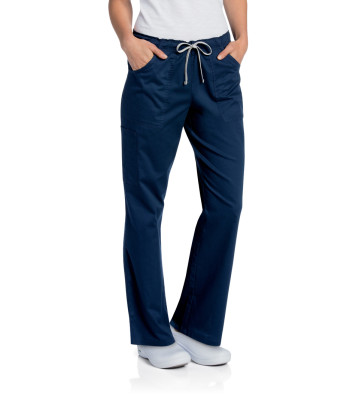 All Day Full Elastic + Drawstring Cargo Pant-Landau