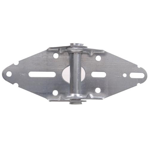 Hardware Essentilas Galvanized Garage Door Hinge #1 7-3/8