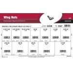 "Wing Nuts Assortment (#6-32 thru 1/2"" Fine & Coarse Thread)"