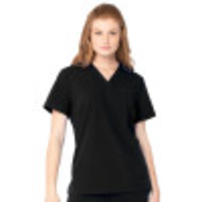 Urbane ICON One-Pocket Scrub Top for Women: Contemporary Slim Fit, Ultra Soft V-Neck Medical Scrub Top 9634-