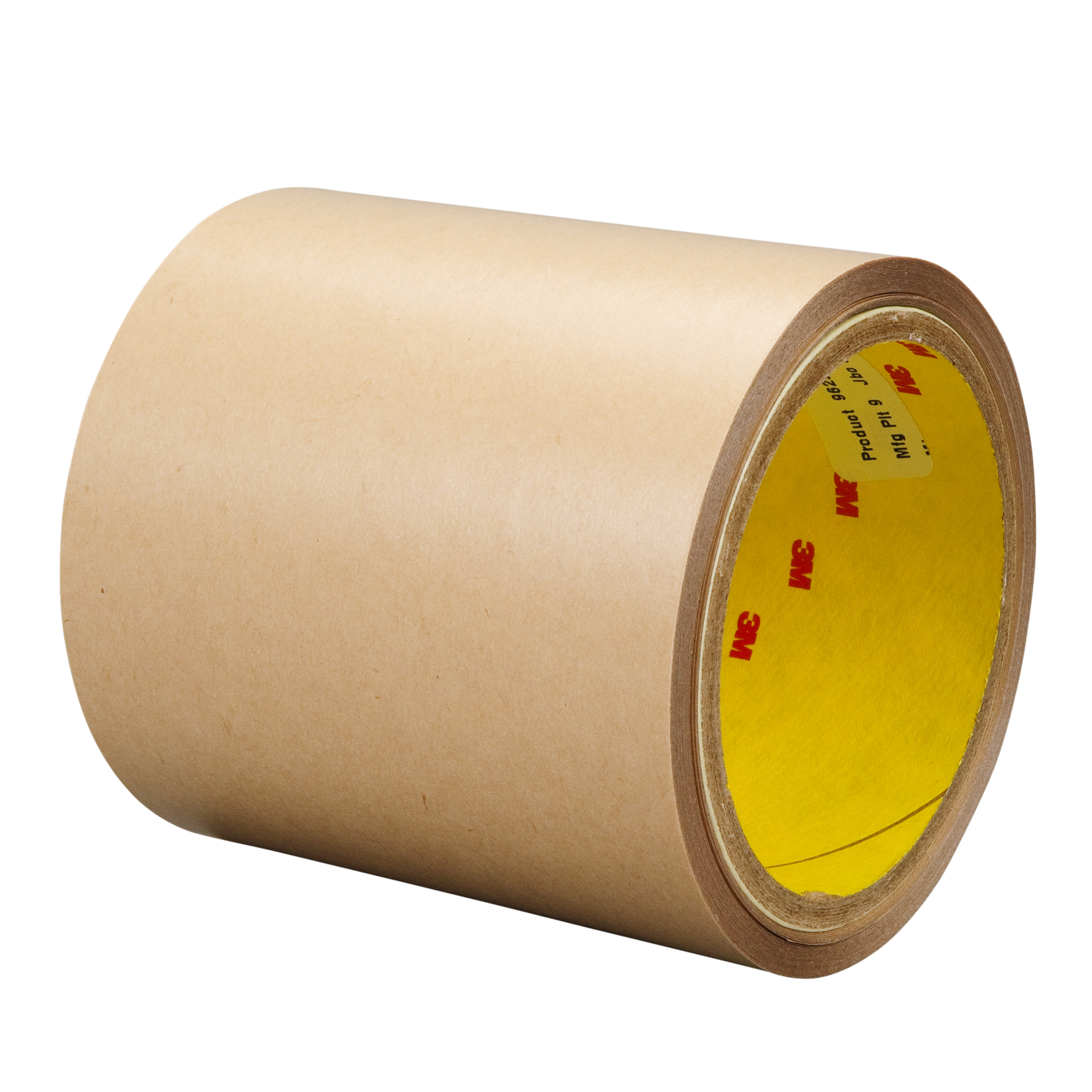 3M™ Double Coated Tape 9629PC, Clear, 4 mil, Roll, Config