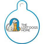 Lost Dogs Home Large Circle Quick-Tag