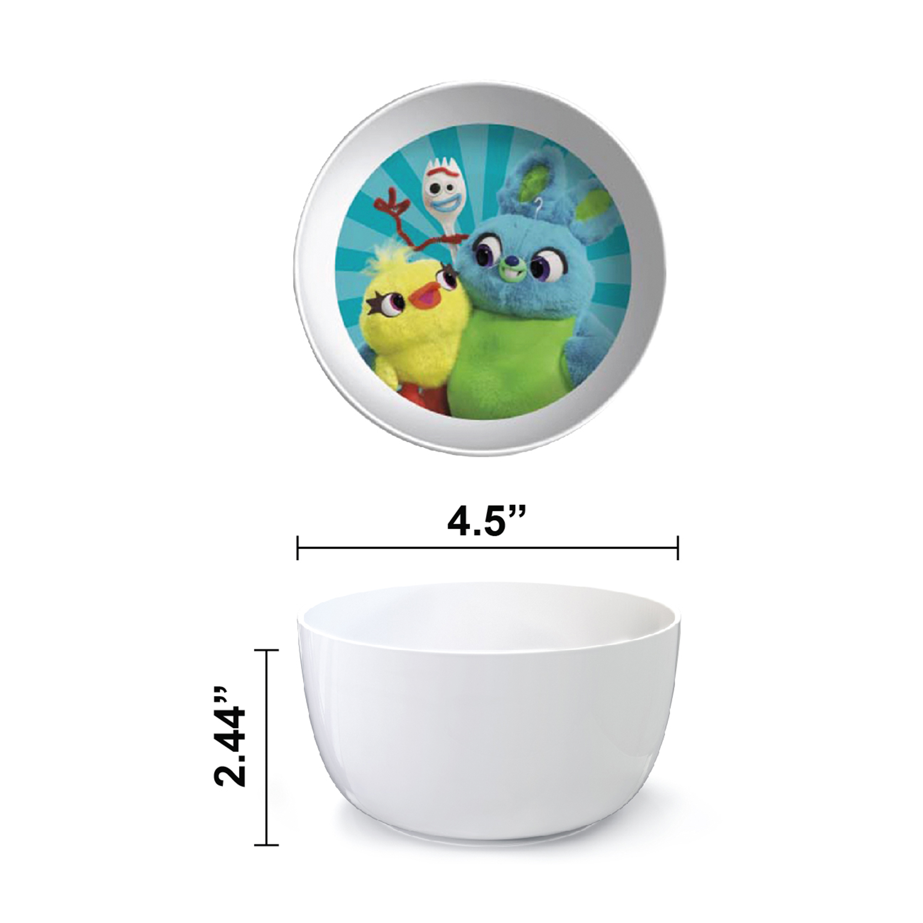 Disney Pixar Dinnerware Set, Woody, Buzz and Friends, 5-piece set slideshow image 6
