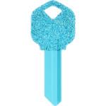 Glitter Key Blank