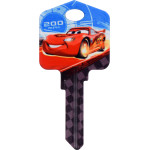 Disney Cars - Lightning McQueen Key Blank