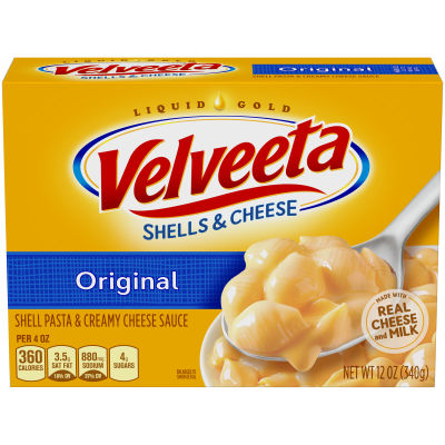 Velveeta Original Shells & Cheese, 12 oz Box