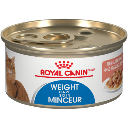 Royal Canin Feline Care Nutrition Weight Care Thin Slices In Gravy Canned Cat Food