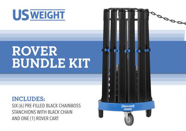 Rover Cart Bundle - ChainBoss Filled  2