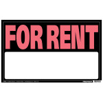 "For Rent Sign (12"" x 19"")"