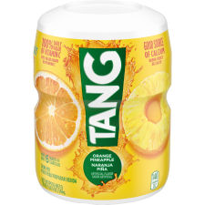 Tang Orange Pineapple Powdered Soft Drink, 20 oz Canister