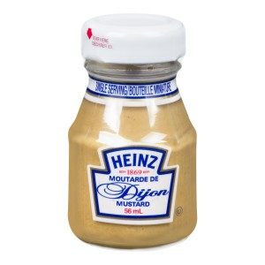 HEINZ Dijon Mustard Mini Bottle 57ml 60 image