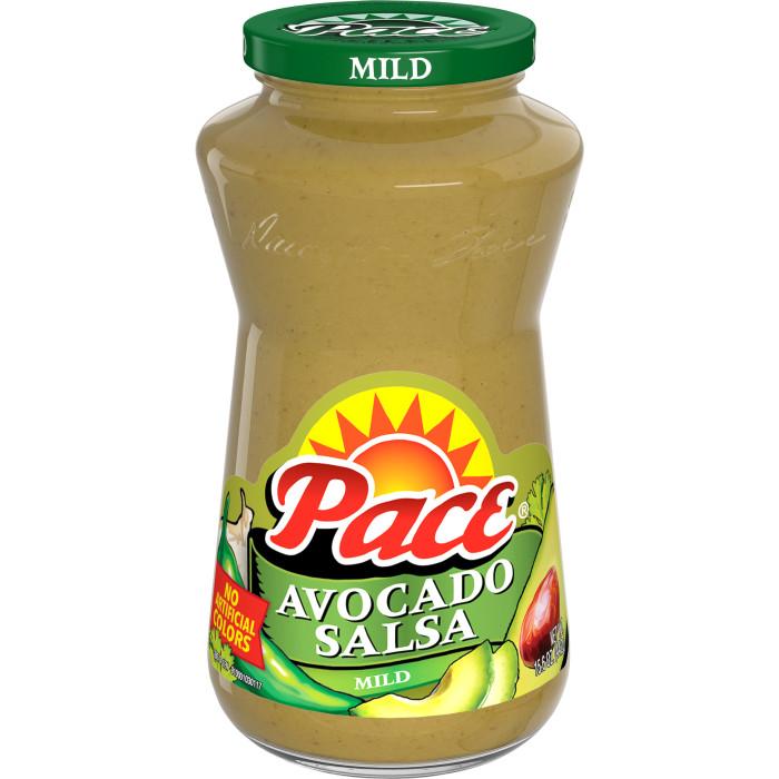 Mild Avocado Salsa