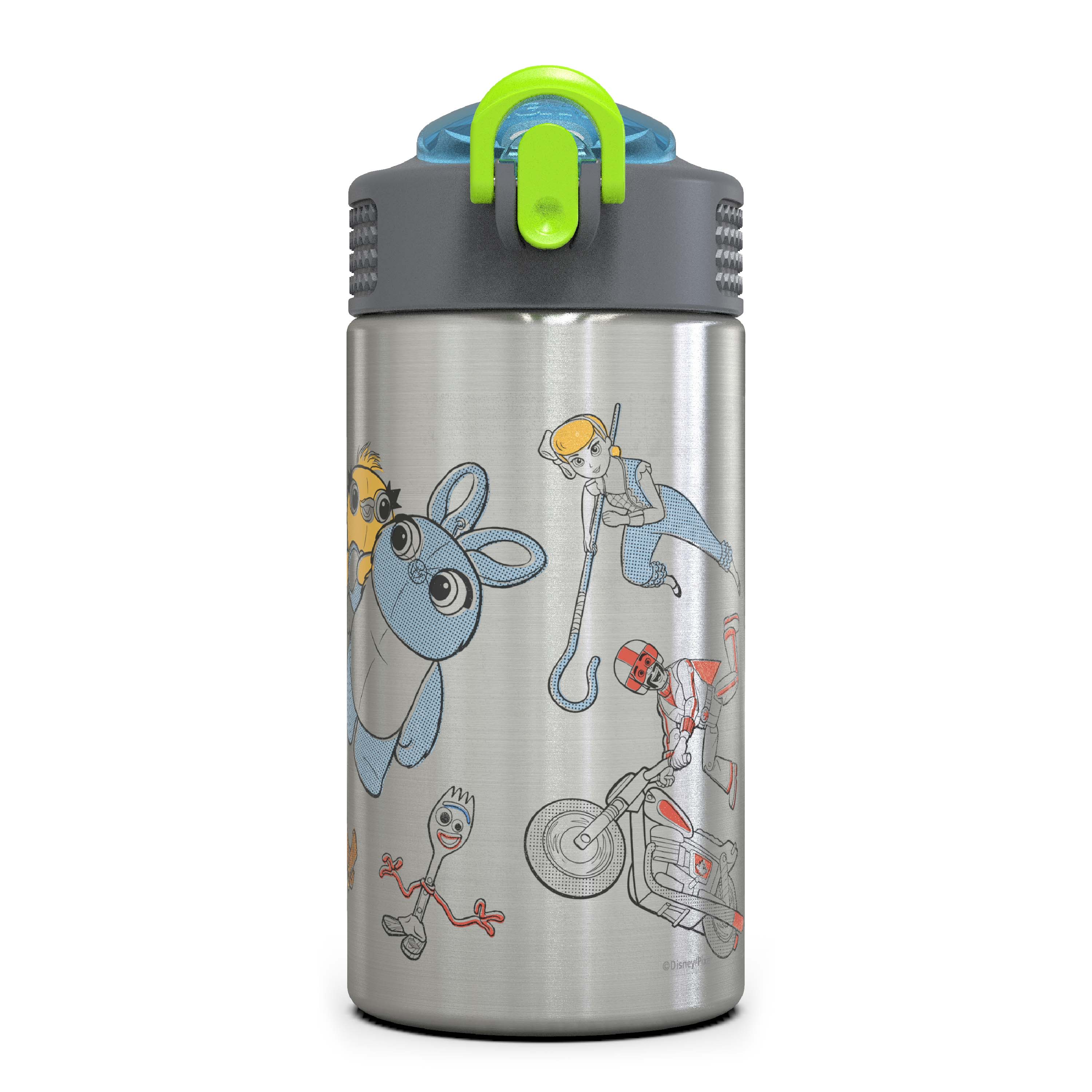 Toy Story 4 Movie 15.5 ounce Water Bottle, Buzz, Woody & Friends slideshow image 1