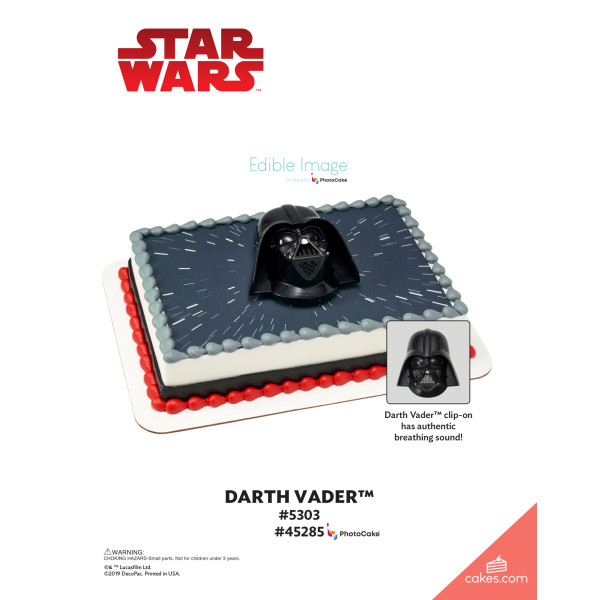 Star Wars™ Darth Vader™ DecoSet® The Magic of Cakes® Page