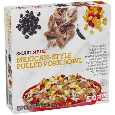 Smart Made Smart Ones Mexican-Style Pulled Pork Bowl 10 oz Box