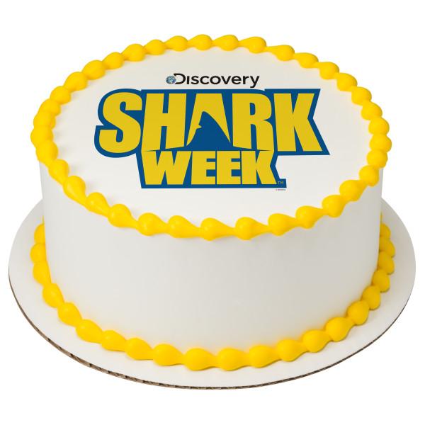 Discovery Shark Week™ PhotoCake® Edible Image®
