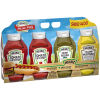 Heinz Picnic Pack Ketchup, Sweet Relish & Yellow Mustard 118 oz Multipack