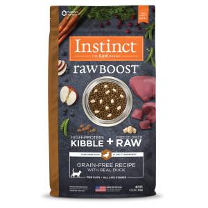 Raw Boost Duck Dry Cat Food