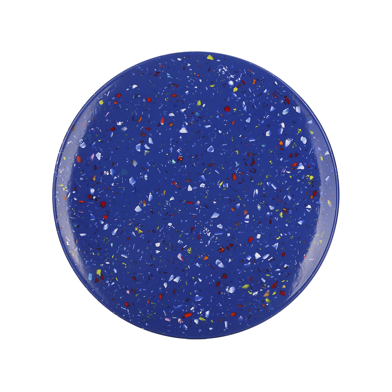 Confetti Salad Plate, Blue, 6-piece set slideshow image 6
