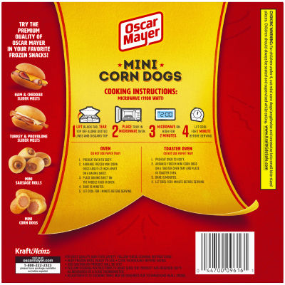 Oscar Mayer Mini Corn Dogs Angus Beef