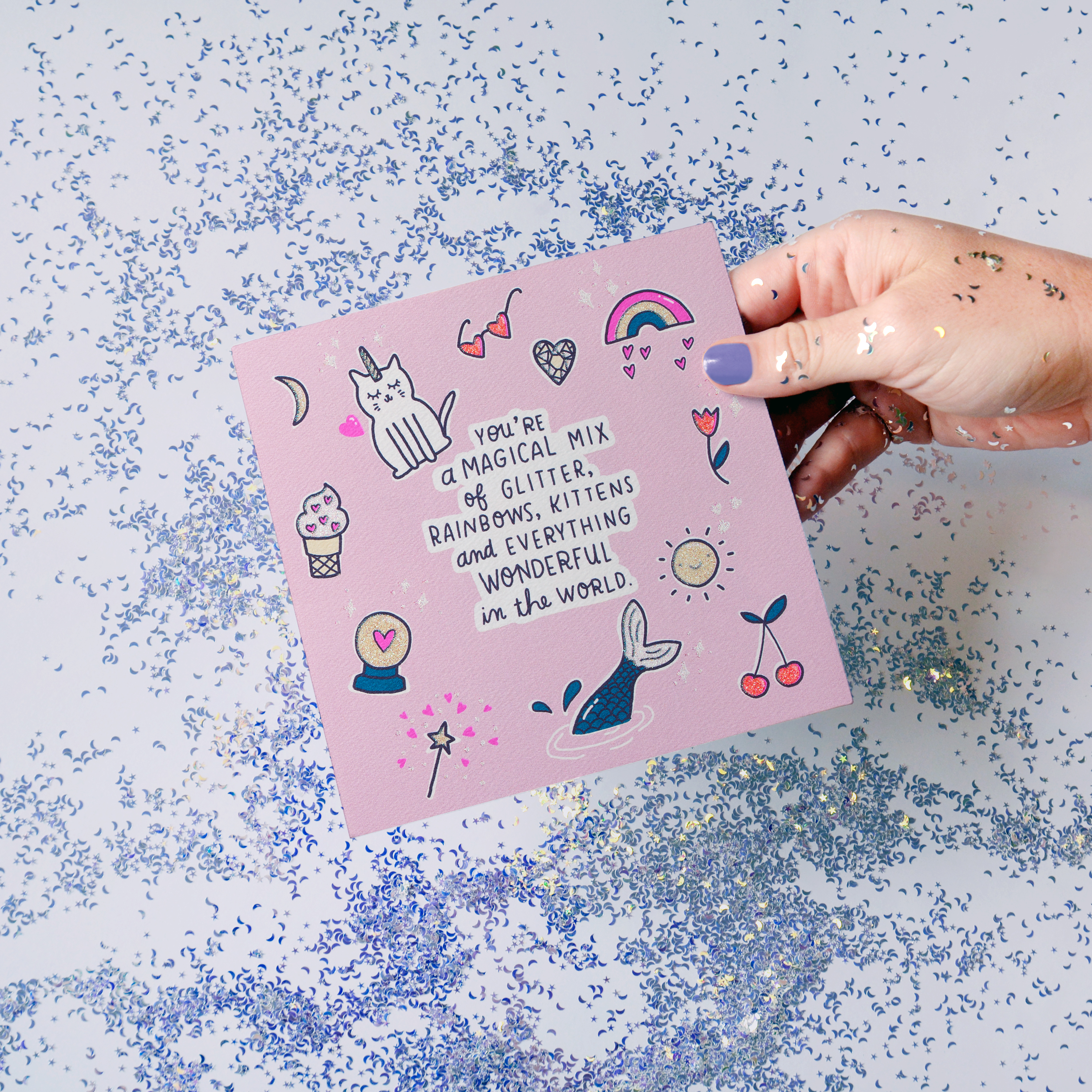 Magical Valentine's Day Card image