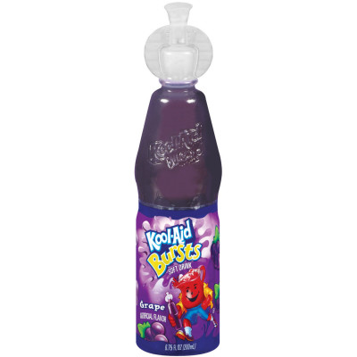 Kool-Aid Bursts Grape Ready-to-Drink Soft Drink 6.75 fl oz Bottle