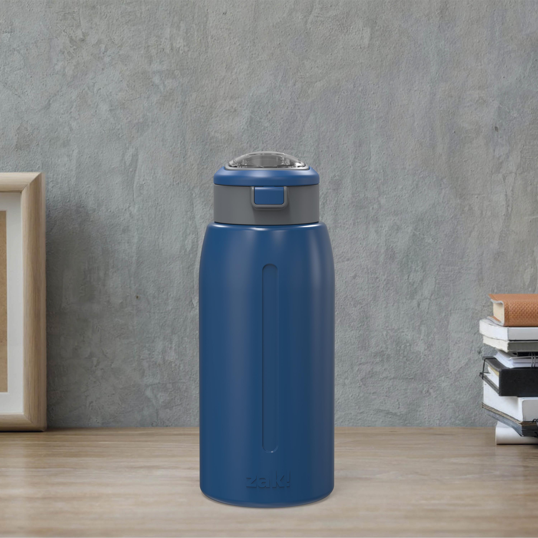 Genesis 32 ounce Stainless Steel Water Bottles, Indigo slideshow image 2