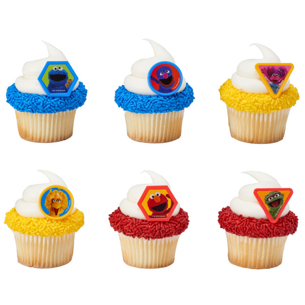 Sesame Street® Giggle Together Cupcake Rings