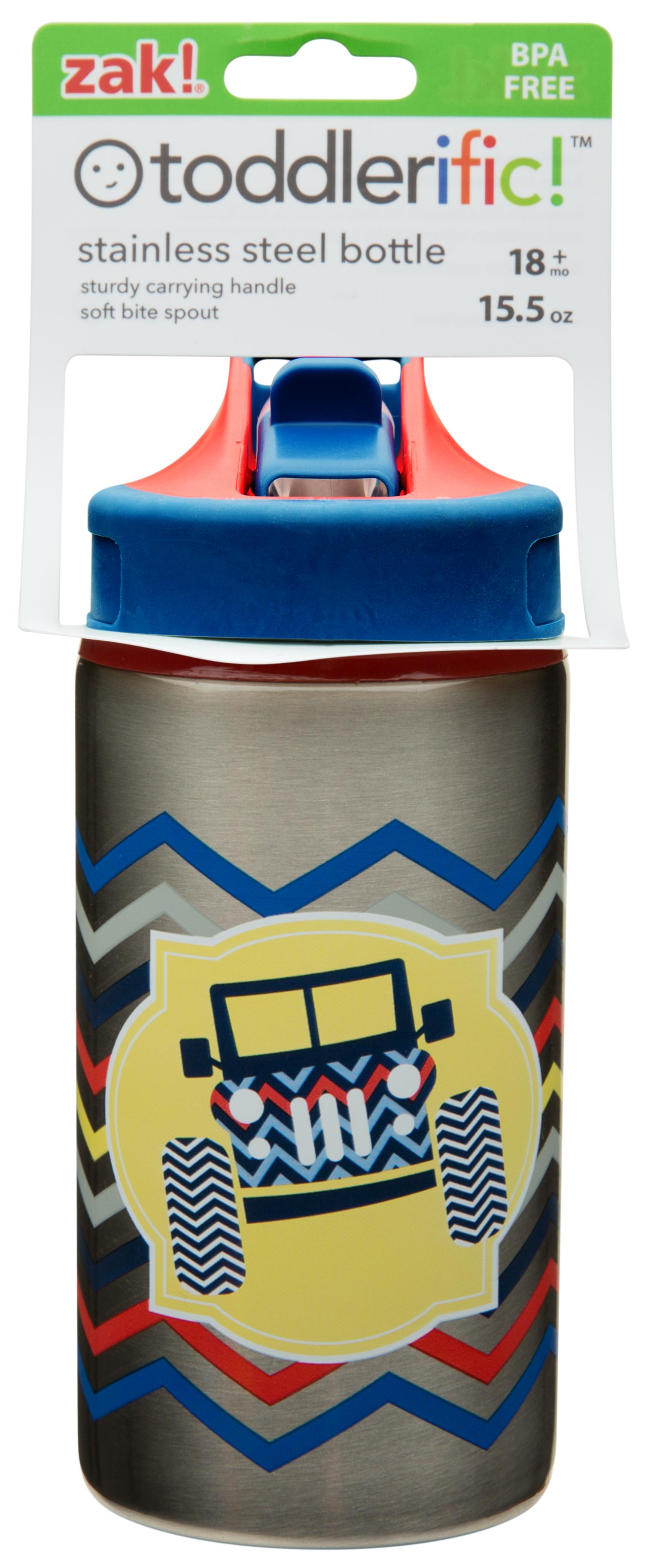 Toddlerific 15.5 ounce Water Bottle, 4x4 Trucks slideshow image 6