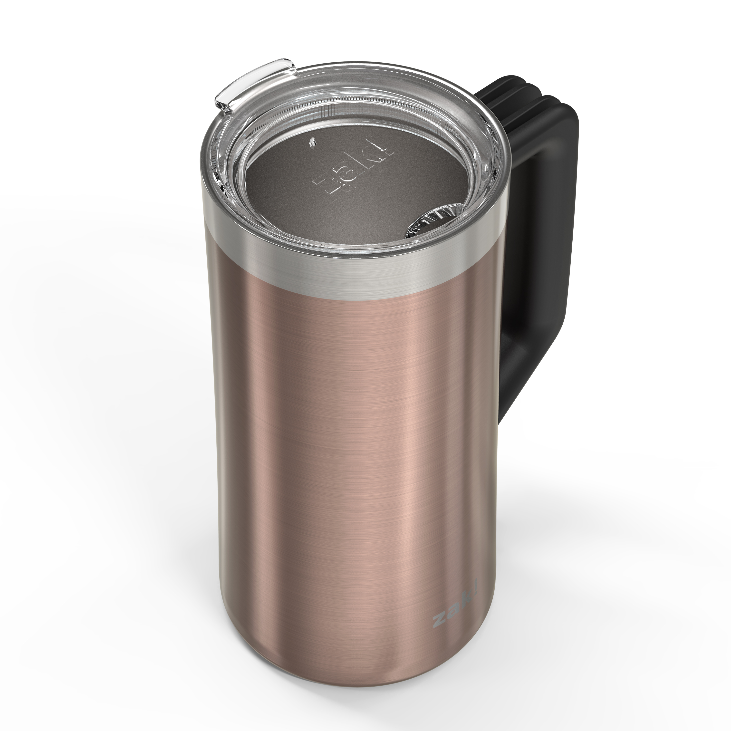 Creston 25 ounce Stainless Steel Vacuum Insulated Beer Stein, Rose Gold slideshow image 3