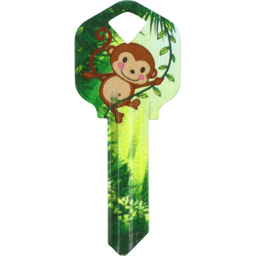 WacKey Monkey Key Blank